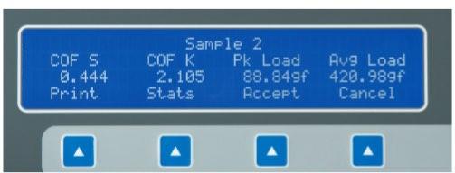 рибор для определения коэффициентов трения с микропроцессорным контролем