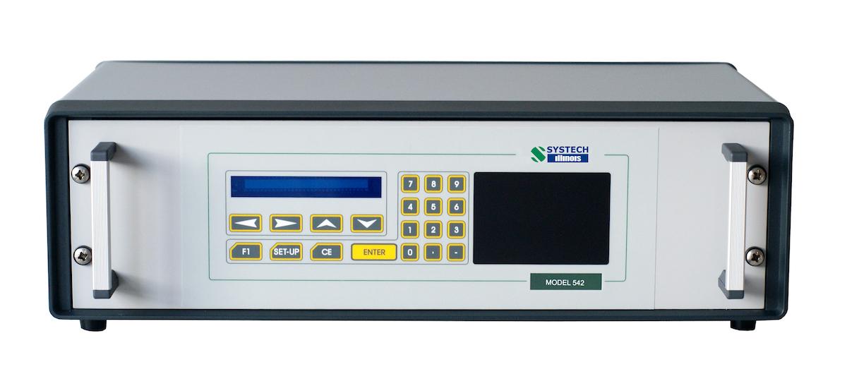 Программируемый газовый анализатор, модель 542