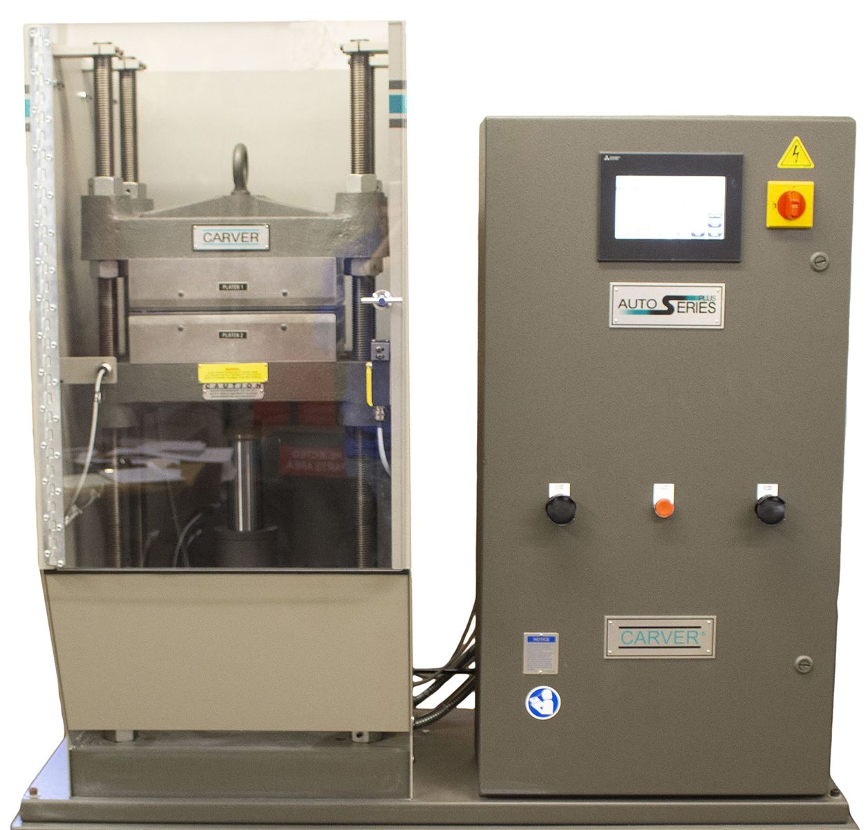 Автоматический лабораторный гидравлический пресс серии Auto Plus