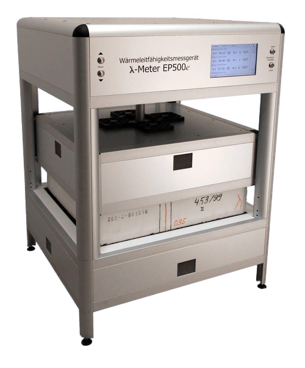 Прибор для измерения теплопроводности с горячей охранной зоной Lambda-Meter EP500е
