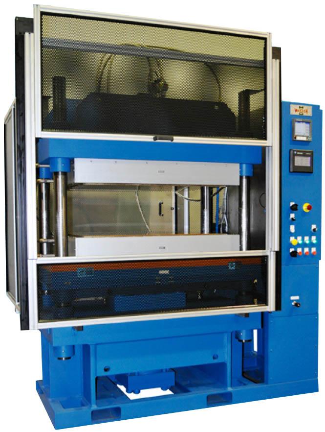 Высокотемпературные гидравлические прессы для композитов