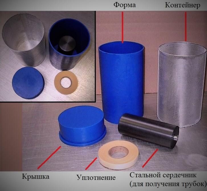 Полиуретановые пресс-формы